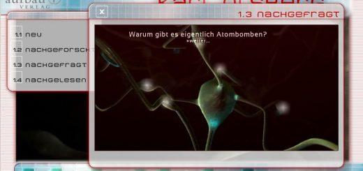 Landingpage 'Schwarzer Regen' Screen 3