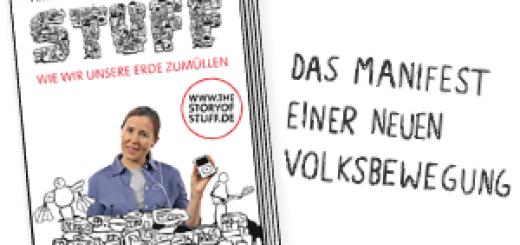 Online Anzeige 'The Story of Stuff' von Annie Leonard (Econ, Ullstein)